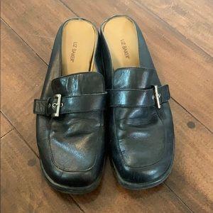 9745ce4329e4 Liz baker size 9.5 leather mule with slight heels